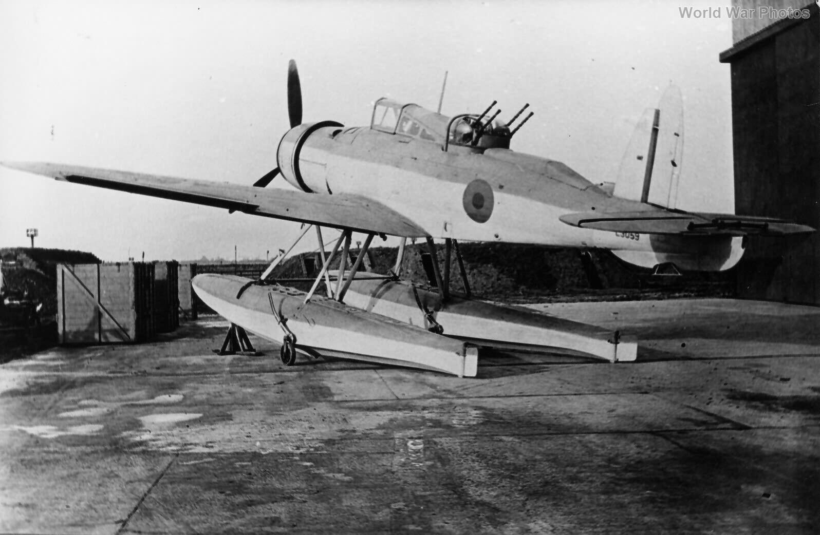 Blackburn Roc L3059 1939