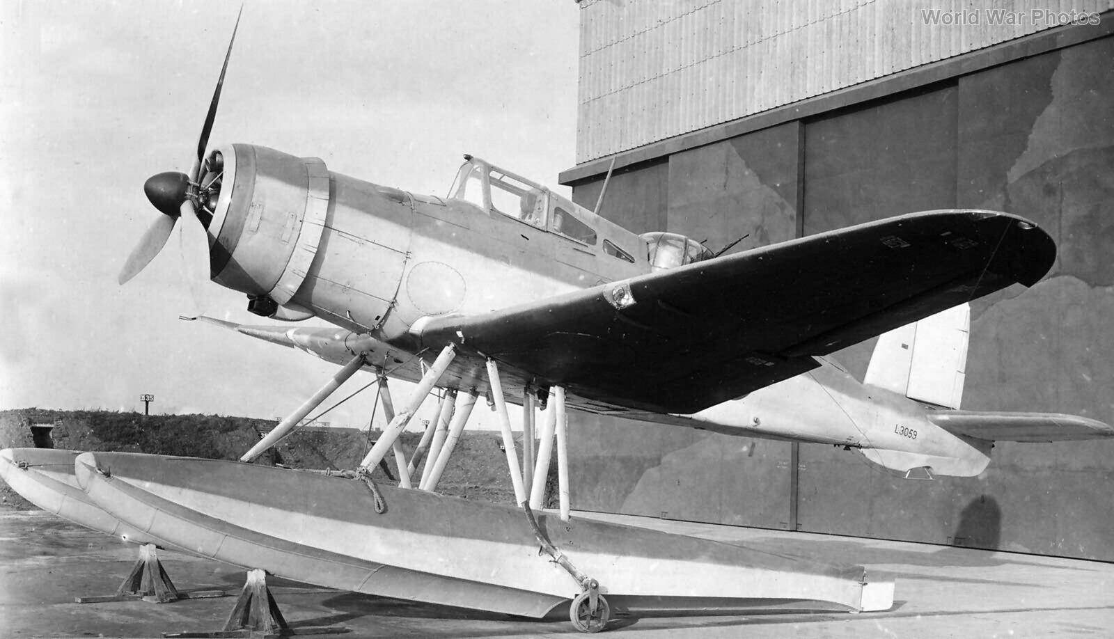 Roc Floatplane L3059 Helensburgh