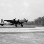 Short Stirling Bomber code XT-M of No. 1657 Heavy Conversion Unit RAF
