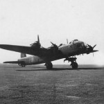 Short Stirling code 7T-P of No. 196 Squadron RAF