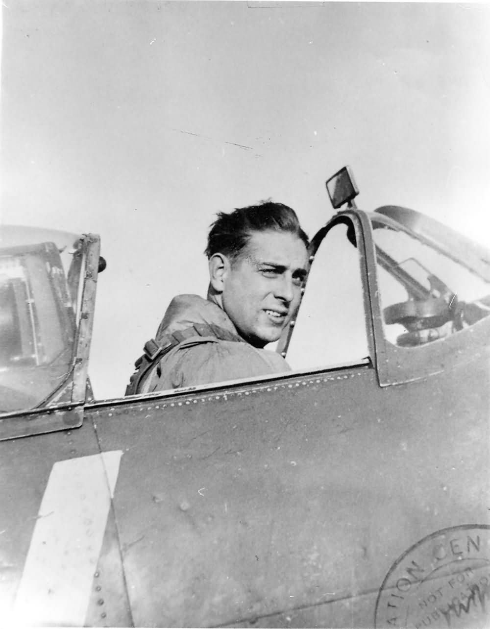 Spitfire Mk Vb pilot George Carpenter No  121 Squadron RAF