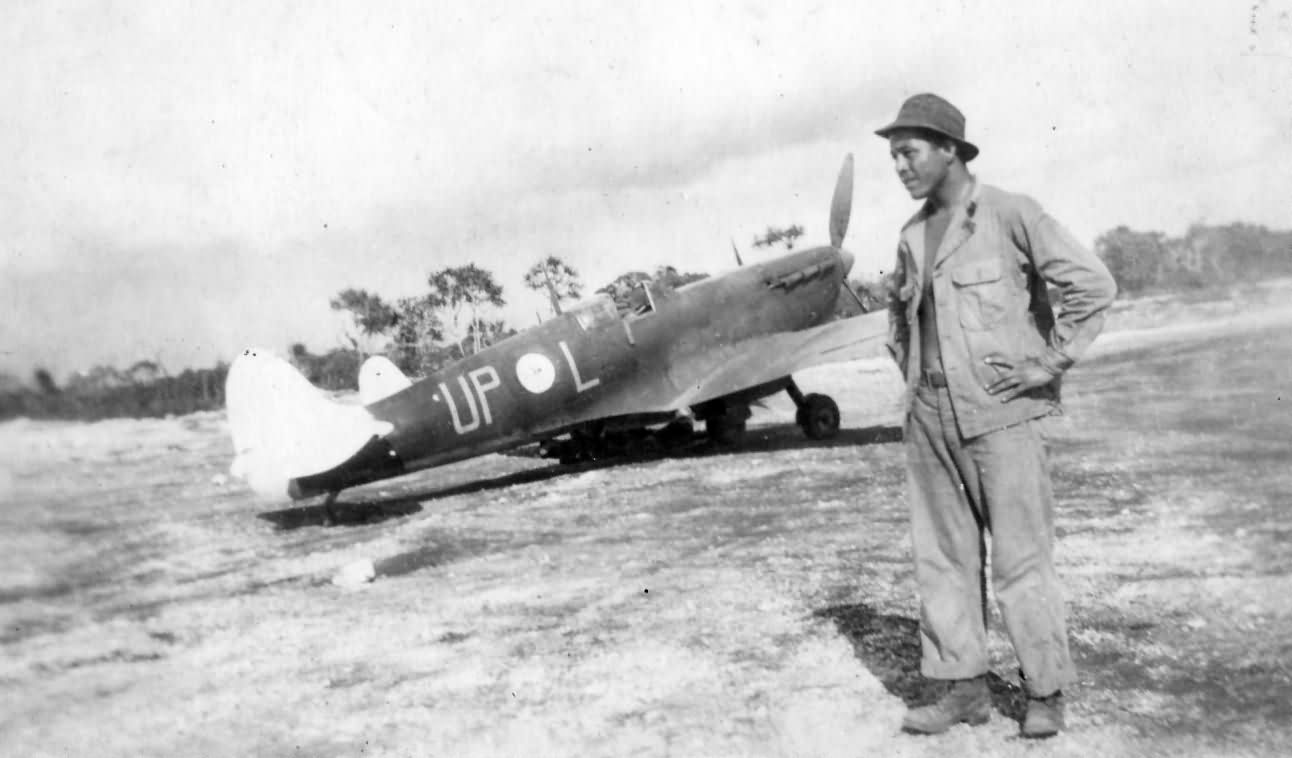 Supermarine Spitfire UP L Of No 79 Squadron RAAF PTO