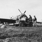 American Spitfire Mk VIII of the 31st Fighter Group 307th Fighter Squadron