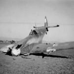 Crashed Spitfire of the RAAF