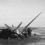 Destroyed Spitfire 1945 Attack on Eindhoven Airfield 1 January 1945