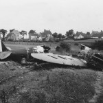 Destroyed Supermarine Spitfire Mk I 1940