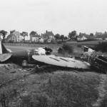 Destroyed Supermarine Spitfire Mk I 1940