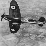 K5054 in air Supermarine Type 300 Spitfire Prototype 1939