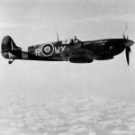 Polish Spitfire Mk IX WX-R MH869 of No. 302 Squadron