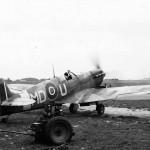 Spitfire MD-U of the 133 (Eagle) Squadron RAF