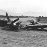 Spitfire MK IX of No. 93 Squadron Crash Landed