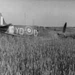 Spitfire Mk II YQ-D of No. 616 Squadron RAF