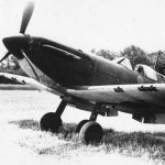 Spitfire Mk I flown by Richard Hardy of 234 Squadron N3277 code AZ-H Cherbourg 1940