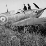 Spitfire Mk I of No. 222 Squadron RAF code ZD-A