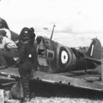 Spitfire Mk Ia R6597 GR-A of No 92 Squadron July 1940