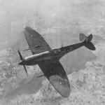 Spitfire Mk VIII code DG-Z of No. 155 Squadron RAAF