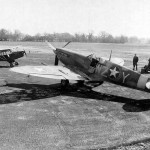 Spitfire Mk V code WZ-Y of the USAAF At Membury Airdrome 15th TRS 67th RG England 15 March 1943