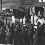 Spitfire Polish Bishop Leads Mass for No. 317 Fighter Squadron 1944