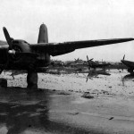 Spitfires and A-20 in Italy 1945