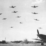 Squadrons of Spitfires Taking off from RAF Biggin Hill 1942
