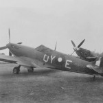 Supermarine Spitfire Mk VIII QY-E of No. 452 Squadron RAAF