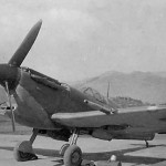 Supermarine Spitfire Mk V Parked on Airfield