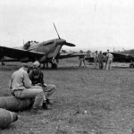 Supermarine Spitfire V and IX in France 1944