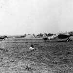USAAF 307 th Fighter Squadron 31st FG Spitfires Mk Vb Takeoff from RAF station Biggin Hill 1942