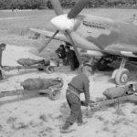 Spitfire Mk IX 132 Squadron at B11 Longues