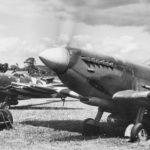 Spitfire Mk IX 453 Squadron at Ford