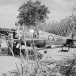 Spitfire Mk VIII MT714 FT F 43 Sqn at Ramatuelle