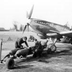 Spitfire XVI of No 603 at Ludham mar45