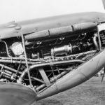 Spitfire IIa P7508 Rolls Royce Merlin IX engine