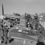 Spitfire LF Mk VB of No 322 Squadron at Hawkinge February 1944