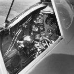 Supermarine Spitfire Mk IIa cockpit