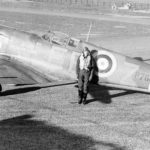 """Supermarine Spitfire Mk IIa P7666 EB-Z """"Observer Corps"""" of No 41 Squadron RAF at Hornchurch 1940"""