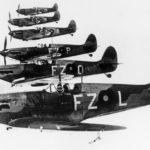 Spitfires Mk I of No. 65 Squadron RAF August 1939