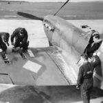 Spitfire Mk I of No 602 Squadron at Drem March 1940