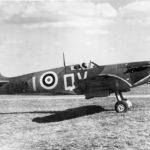 Spitfire Mk Ia X4474 QV-I taking off