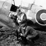 Polish Spitfire Mk Vb WX-L EN865, pilot S/L Lapka, 302 Squadron, Hutton Cranswick, March 1943