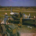 Spitfire Mk Vb ZD-Z of No. 222 Squadron RAF