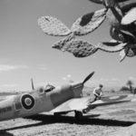 Spitfire Mk VC ER939 L-A of No 152 Squadron RAF at Souk el Khemis