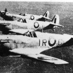 Spitfires Mk V of No. 601 Squadron RAF