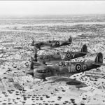 Spitfires Mk V of No. 601 Squadron RAF and IR-G