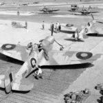 Spitfires Mk V in North Africa