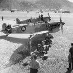 Spitfires Mk Vb EP965 and AR525 in Gibraltar 1942