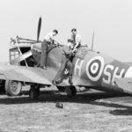 Spitfire Mk Vb SH-H of No. 64 Squadron RAF at Hornchurch, May 1942