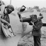 Spitfire PR Mk IV at Benson