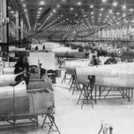 Spitfire factory in the Midlands