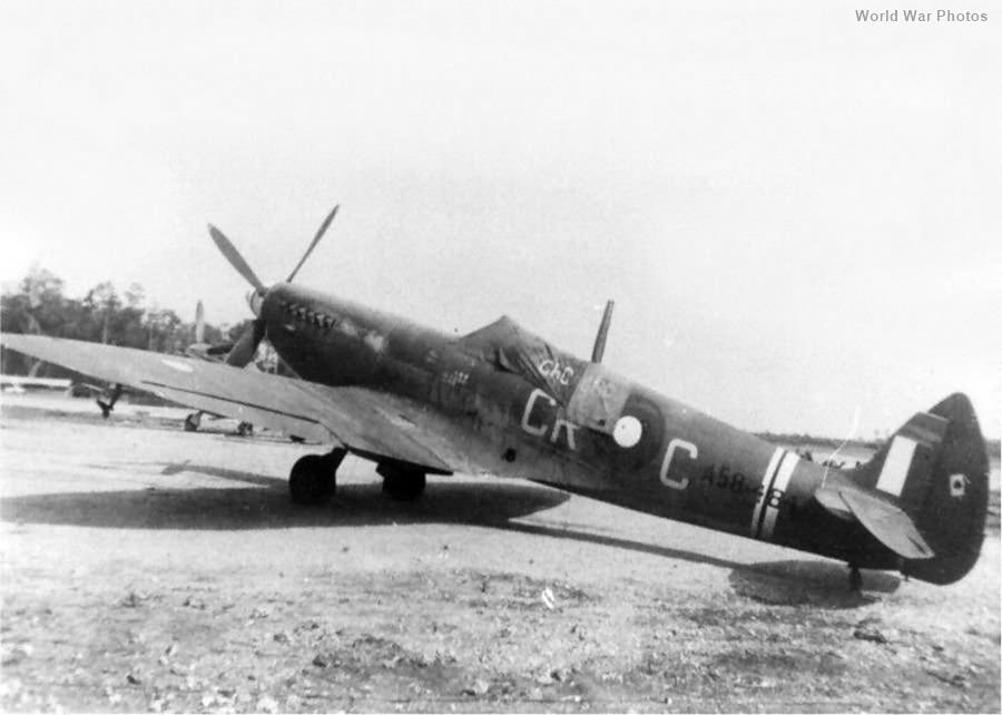 Spitfire L.F. Mk VIII A58-484 CR-C